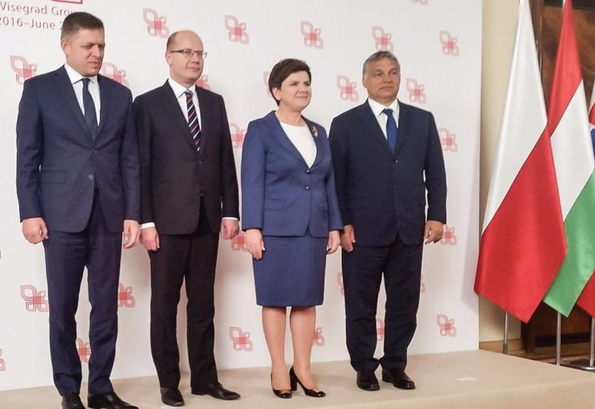 Grupa Wyszehradzka na szczycie UE złoży propozycję ws. reformy Unii